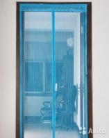 Москитная сетка шторы со вшитыми магнитами