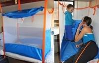 Манеж детский (0+) для поездок в поезде в наличии