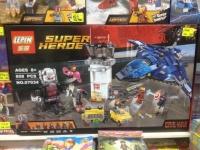 Lepin 07034 Super Heroes Мстители Аэропорта Битва