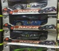 Гоночный автомобиль Racing на пульте управления на батарейках 1:18 (коробка 30 см)